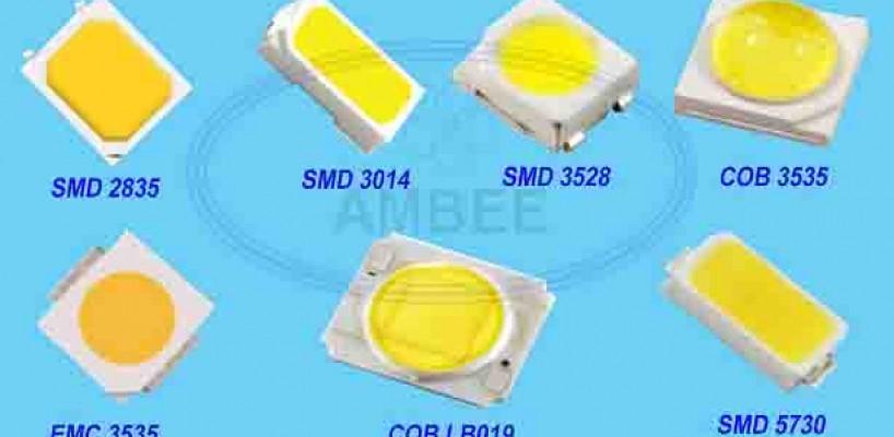 Phân biệt các loại chip LED COB, LED SMD, LED OVAL, LED LUXEON